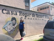 Benedictine Volunteers serve at Casa Hogar de Nazareth Ninas, a home for orphaned girls in Piedras Negras, MX.