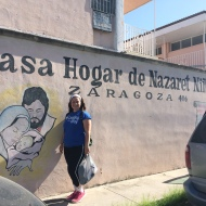 Benedictine Volunteers serve at Casa Hogar de Nazareth Ninas, a home for orphaned girls in Piedras Negras, MX.