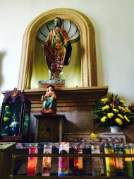 Benedictine Volunteers visit Iglesia de Guadalupe in Piedras Negras, MX.