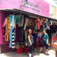 Benedictine Volunteers explore Piedras Negras, MX.