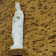 Benedictine Volunteers visit Our Lady of Refuge Church in Eagle Pass, TX.