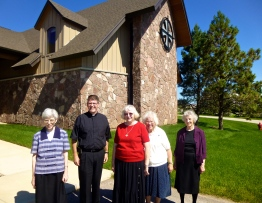 Sisters and Fr. Mark McCormick