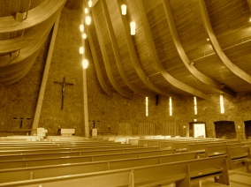 Interior of Terra Sancta Retreat Center Chapel