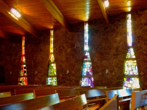 Mosaics in Terra Sancta Retreat Center Chapel