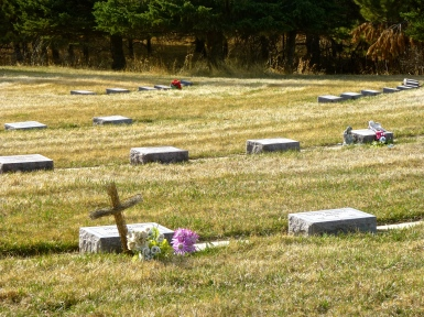 Cemetery of deceased sisters of St. Marin Monastery
