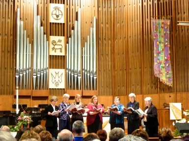 Annunciation Monastery choir at Echoes of Easter Fundraising Concert