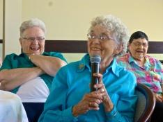 Sisters enjoy reminiscing good memories