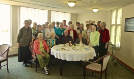 The Benedictine Sisters of Mother of God Monastery wish a happy retirement to Jim, Maintenance Manager